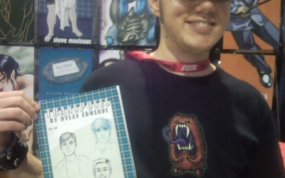 Dylan Edwards Appears at Prism Comics booth, in No Straight Lines Anthology, and Northwest Press Panel at San Diego Comic-Con!