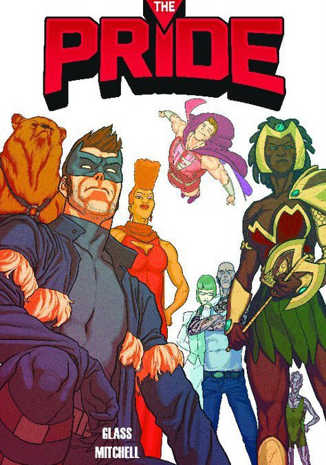Pre-Order New Gay Supergroup Comic The Pride!