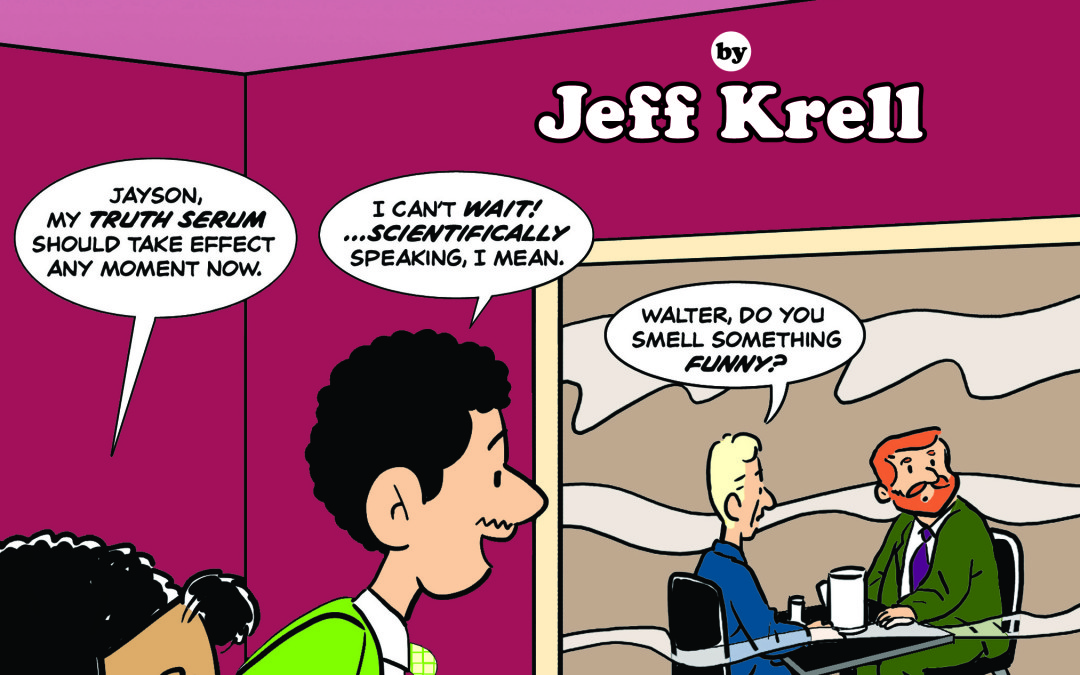 Jeff Krell debuts Jayson Comics #2 at the Prism Comics booth at San Diego Comic-Con 2012!