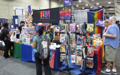 Prism Comics at Bent Con 2014!