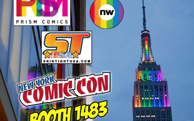 PRISM COMICS AT NEW YORK COMIC CON 2015
