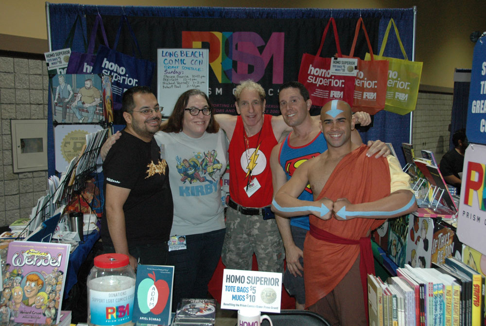 PRISM COMICS AT LONG BEACH COMIC EXPO – BOOTH 1003