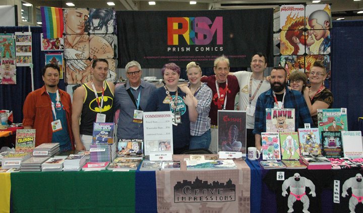 Prism Comics Celebrates 13 Years of Championing LGBTQ Comics, Creators and Readers at SDCC!