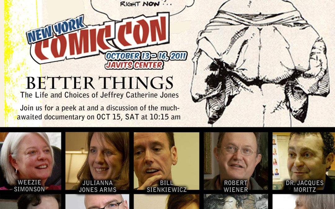 Documentary about Artist Jeffrey Catherine Jones Featured at Better Things Panel at New York Comic-Con!