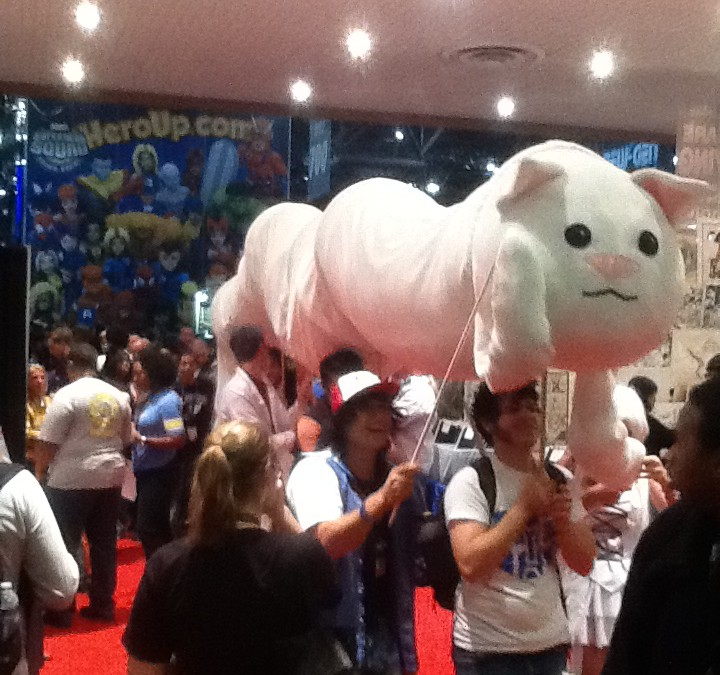 First Report From NYCC 2011!