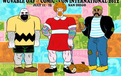 Meet Ed Luce and Get Your Wuvable Oaf Comics and Merch at the Prism Comics Booth at San Diego Comic-Con!