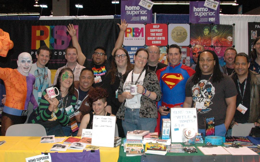 Prism Comics at WonderCon Anaheim 2015