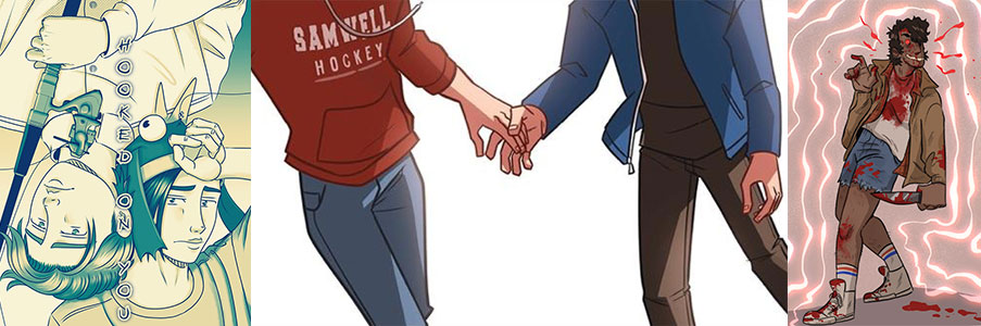 More Queer Comics on Kickstarter!