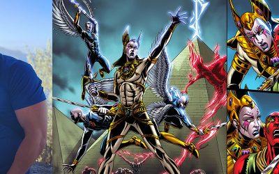Class6, the Millenia-Spanning Sci-Fi Comic Continues
