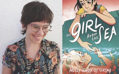 """Molly Knox Ostertag Shares Her New Book                                     """"Girl From The Sea"""""""