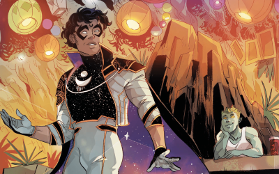 Interview: STEVE ORLANDO and LUCIANO VECCHIO talk SOMNUS from MARVEL'S VOICES: PRIDE #1