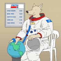Astronaut Monobloc by Jesse England